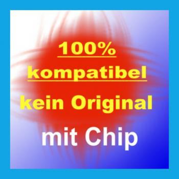 Kompatible Tintenpatronen CLI-571 XL Cyan mit Chip 11ml