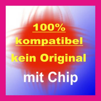 Kompatible Tintenpatronen CLI-571 XL Magenta mit Chip 11ml