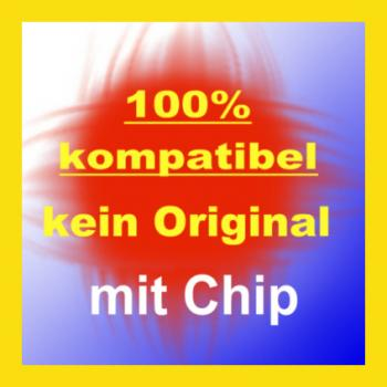 Kompatible Tintenpatronen CLI-571 XL Yellow mit Chip 11ml